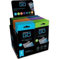 Película Protetora Multilaser Lcd Transparente Para Smartphone 7 Polegadas 56Pcs - Ac315 - Padrão