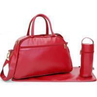 Bolsa Maternidade Fashion Kastanheira Vermelha