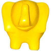 Cofre Real Arte Elefante Amarelo