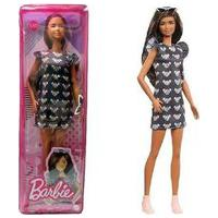 Barbie Fashionista - Vestido Preto Ratinho Fbr37