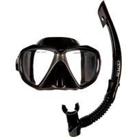 Kit Mergulho Máscara+Snorkel Cetus Icaro - Unissex