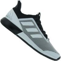 Tênis Adidas Defiant Bounce 2 - Masculino - Branco/Preto