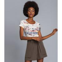 Blusa Manga Curta Estampada Dream - Lez A Lez