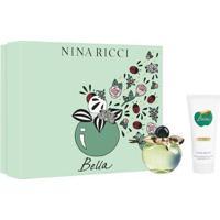 Kit Perfume Feminino Bella Nina Ricci Edt 80Ml + Loção Corporal 100Ml - Feminino-Incolor