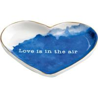 "Mini Prato ""Love Is In The Air""- Branco & Azul- 1,5Xmart"