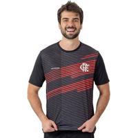 Camisa Flamengo Legend Braziline Masculina - Masculino-Preto