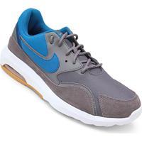 c47595b5b2a ... Tênis Nike Air Max Nostalgic - Masculino-Cinza+Azul