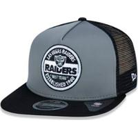 Netshoes  Boné 950 Original Fit Oakland Raiders Nfl Aba Reta Snapback New  Era - Masculino e09354219a2