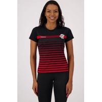 Camisa Flamengo Date Feminina - Feminino-Preto