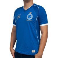 Camisa Retrô Mania Cruzeiro 2003 - Alex - Tríplice Coroa Masculina - Masculino