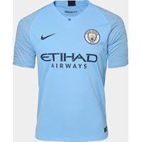 Camisa Manchester City Home 2018 S/N° - Torcedor Nike Masculina - Masculino
