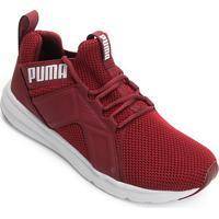 Tênis Puma Enzo Weave Bdp Masculino - Masculino-Vermelho+Branco