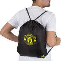 Gym Sack Manchester United Adidas - Preto/Cinza