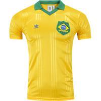 Camisa Do Brasil Adidas - Masculina - Amarelo