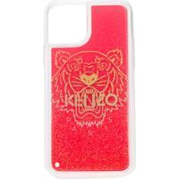 Kenzo Iphone 11 Pro Logo-Print Case - Vermelho