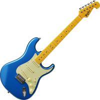 Guitarra Woodstock Tagima Tg-530 Azul
