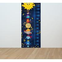 Adesivo Régua De Crescimento Sistema Solar