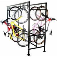 Bicicletario De Correr Duplo Para 20 Vagas Altmayer Al-99 - Unissex