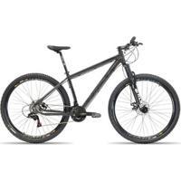 Bicicleta Aro 29 First Smitt 21 Velocidades Relação Shimano Freio A Disco Suspensão - Unissex