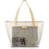 Bolsa Shopper Jacki Design Pvc - Feminino