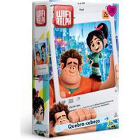 Quebra-Cabeça - Wifi Ralph - Disney - 200 Peças - Toyster