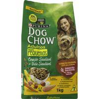 Ração Para Cães Dog Chow Adultos Raças Pequenas Com 1Kg