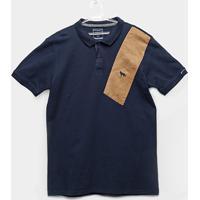 Camisa Polo Infantil Acostamento Masculina - Masculino