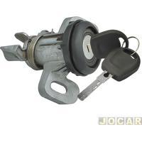 Cilindro Do Capô Traseiro - Gol G5 2009 Até 2012 - Com Chave - Preta - Cada (Unidade)