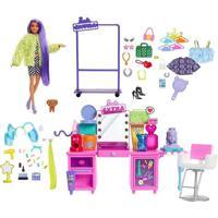 Boneca Barbie Extra Penteadeira Fashion