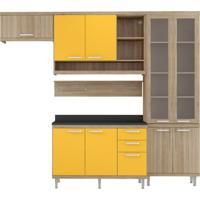 Cozinha Compacta Roberta V 9 Pt 3 Gv Argila