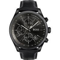 Relógio Hugo Boss Masculino Couro Preto - 1513474