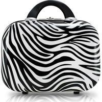 Frasqueira Jacki Design Zebra - Unissex-Preto