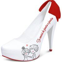 Sapato Noiva/Casamento Lapupa Bem Querer Vermelho