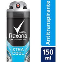 Desodorante Antitranspirante Rexona Xtracool Masculino Aerosol 150Ml - Masculino