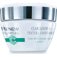 Renew Clinical Clareador & Textura Uniforme Creme Multi-Clareador Facial 30G - Unissex