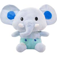 Pelúcia Minas De Presentes Elefante Azul - Kanui