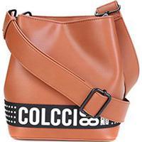 Bolsa Colcci Saco Bucket Sporting Feminina - Feminino-Caramelo