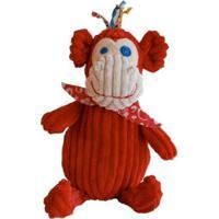 Pelúcia Simply Bogos O Macaco Deglingos - Masculino-Vermelho