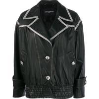 Frankie Morello Giubbino 80S Redux Jacket - Preto