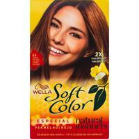 Tintura Creme Soft Color Wella Cobre Escuro 64 Kit