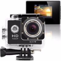 Camera Aprova D''Agua Action Cam Sport Cam Full Hd 1080P Wi-Fi