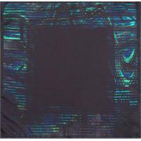 Lenço De Bolso Glitch - Preto