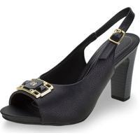 Sapato Feminino Chanel Piccadilly - 614025 Preto 01 35