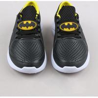 Tênis Infantil Running Batman Preto