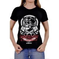 Camiseta Moto Lovers Não Importa O Estilo Feminina - Feminino