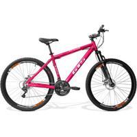 Bicicleta Gts Expert 1.0 Aro 29 Freio A Disco Câmbio Shimano 24 Marchas E Amortecedor - Unissex