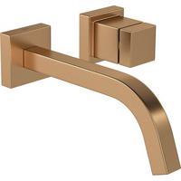 Torneira Para Banheiro Parede Cubo Gold Matte 1179.Gl86.Mt - Deca - Deca