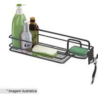 Suporte Para Shampoo & Sabonete- Preto- 39X11X11,5Cmfuture