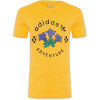 Camiseta Masculina Adv Graphic - Amarelo