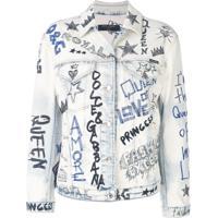 Dolce & Gabbana Jaqueta Jeans - Preto